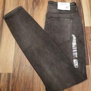 PACSUN 25 High Rise Skinniest Jeans NWT Black
